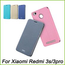 MOFI For Xiaomi Redmi 3S Case Redmi 3 pro 3 S Case Cover Luxury Book Flip Leather Case For Xiaomi Redmi 3S Stand Case(China (Mainland))