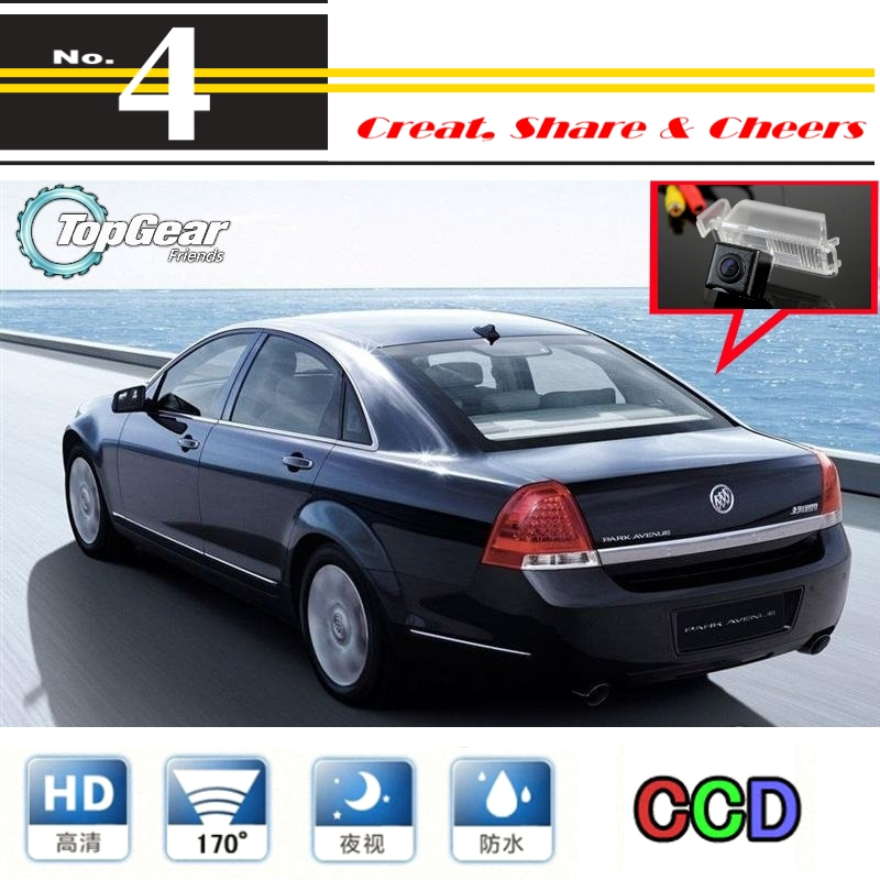 Car Camera For Buick Park Avenue / Royaum 2007~2012 High Quality Rear View Back Up Camera For PAL / NTSC | CCD + RCA WaterProof(China (Mainland))