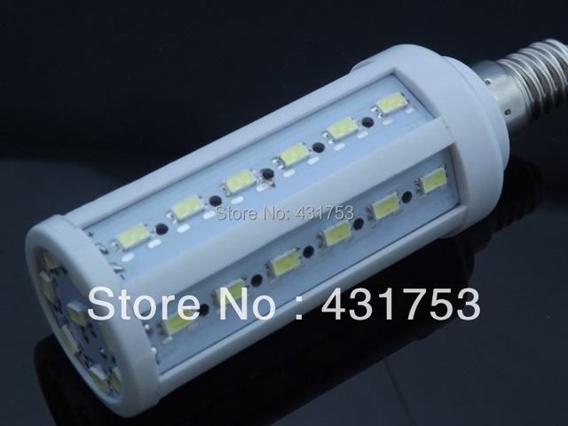 2014 Promotion Special Offer Freeshipping 220v Ce Rohs Lamps 5630 E14 44eds 200-240v/ac 1320lm Corn Bulb Ce&rohs Certificated