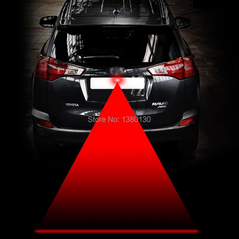Car Laser Fog Lamp Anti-Fog Light Auto Rearing Warming Light For Toyota VW Benz Mazda Mitsubishi car styling FreeShipping(China (Mainland))