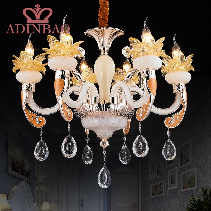 Luxury Chandelier LED Crystal Chandelier 6 Heads Indoor Lighting Crystal Modern LED Crystal Chandeliers 110V 220V 240V F032-6<br><br>Aliexpress