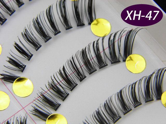 10 Pair XH-47 Handmade Fake False Eyelashes Eye Lashes Eyelash Extension Makeup - Crazy Cart Cosmetics Co., Ltd store