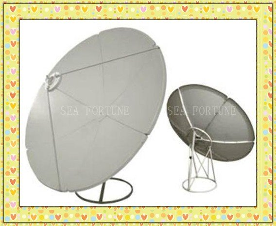 C Band 120cm (4 feet) Prime focus antenna /satellite dish- 6 Panels, This is the best Chinese satellite TV dish antenna(China (Mainland))