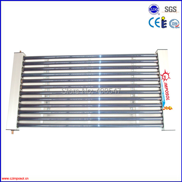 balcony hanging U pipe solar thermal collector(China (Mainland))