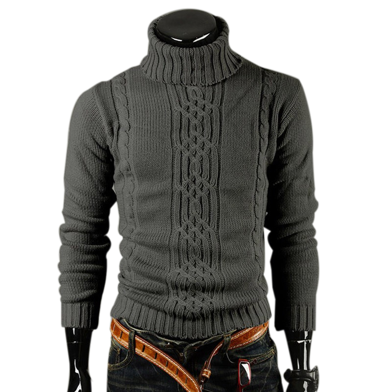 free shipping 2013 new men s casual turtleneck sweater