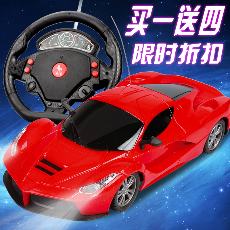 Wheel gravity induction charging electric remote control car drift racing boy children large toy remote control car(China (Mainland))