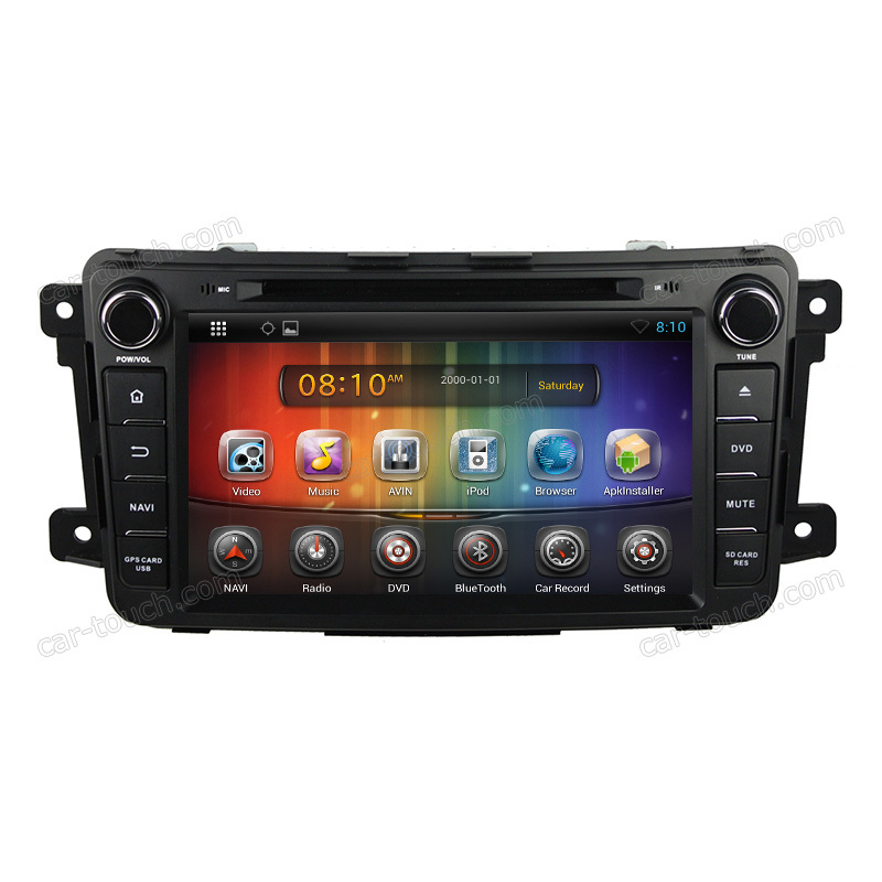 8 inch touch screen gps navigation android car dvd player Mazda CX-9 bluetooth+built-in - Cartouch Entertainment store