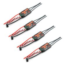 4pcs E-TECH SimonK 20A Brushless ESC Speed Controller for 450 Multicopter