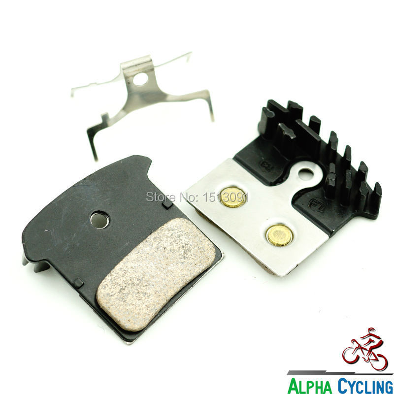 product Sintered Bicycle Disc Brake Pads for Shimano M985 M988 XT M785 SLX M666 M675 Deore M615 Alfine S700 1 Pair F03C Cooling
