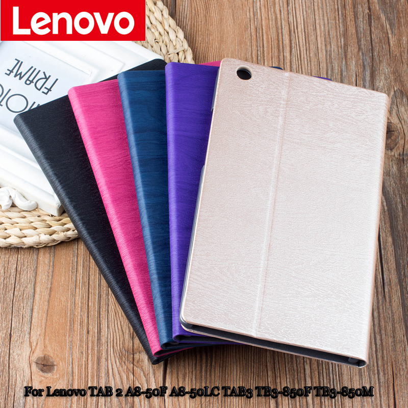 Protective Shell/Skin protective Leather Case For Lenovo TAB 2 A8 A8-50 A8-50F A8-50LC 8'' Tablet PC TB3-850F TB3-850M