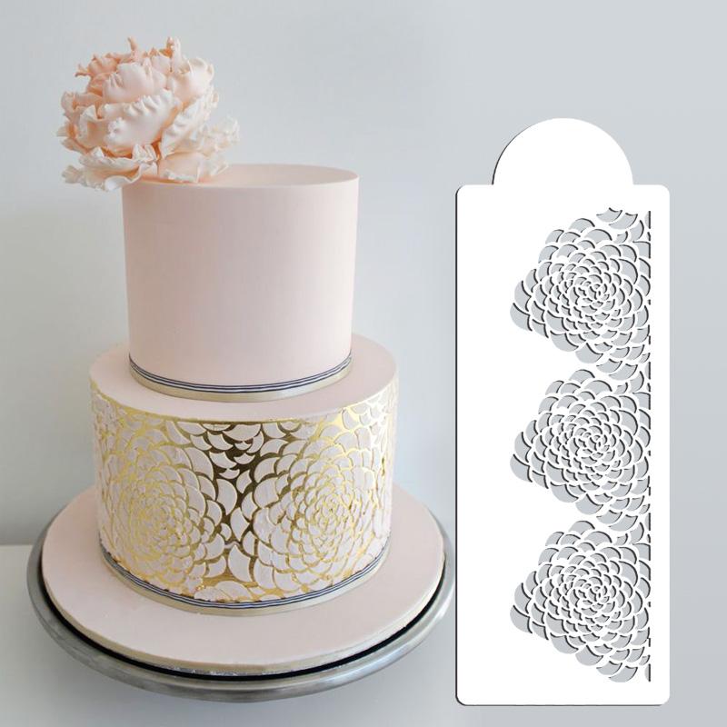 Camilla Rose Stencil set - 3 Tier Cake Stencil, Wedding ...