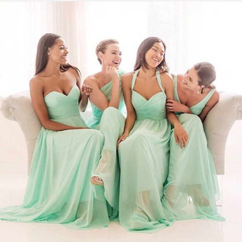 Glamour Wedding Bridesmaid Dresses : Buy glamorous mint bridesmaid dresses wedding party dress