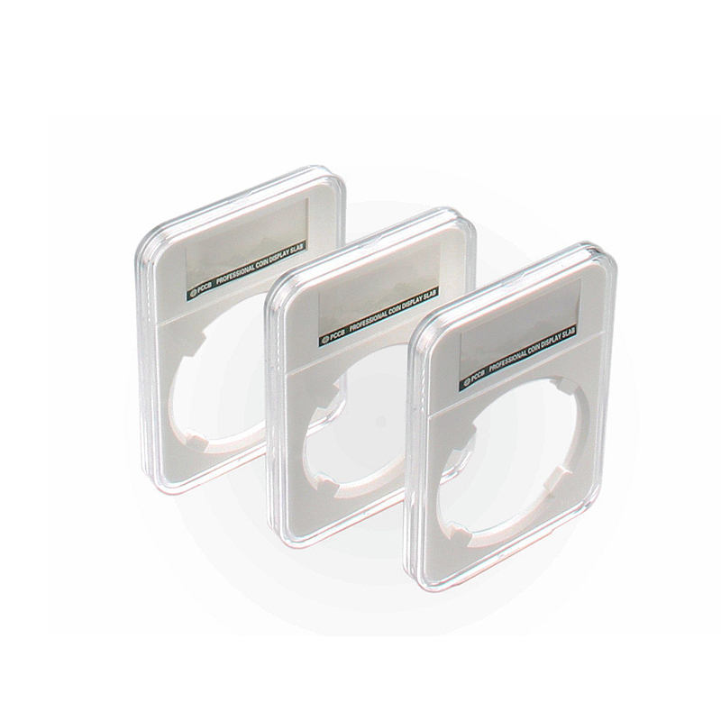 1X10PCS(33mm-40mm),  PCCB Coin Display Slab Capsule Grade Collection NGC Coins Holders Storage Boxes High-Quality