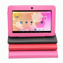 "7"" Q8 Tablet PC Android 4.4 Quad Core 1G 16G Bluetooth WiFi Capacitive Dual Camera Pink Tablet PC 1G+16G Support Leather Case(China (Mainland))"