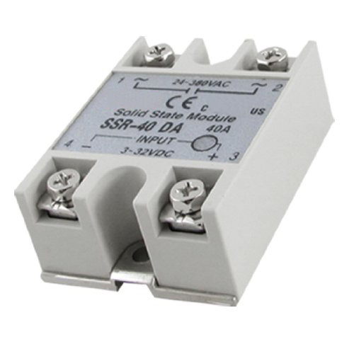 IG Wholesale New Temperature Control Solid State Relay SSR-40DA 40A 3-32V DC 24-380V AC<br><br>Aliexpress