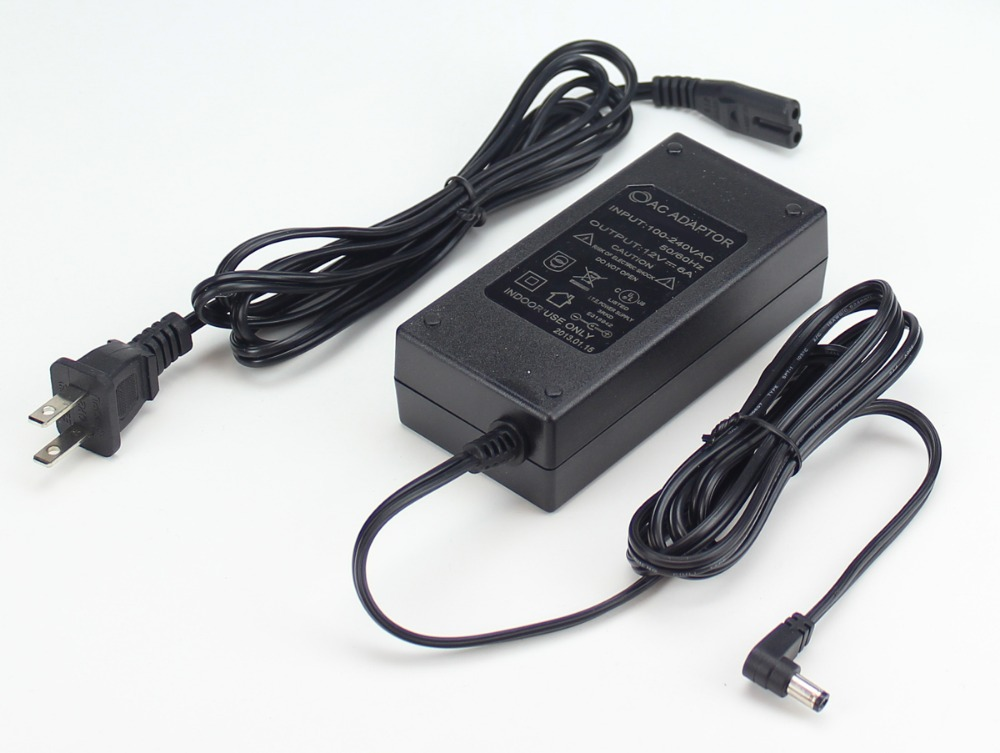 100~240V AC to DC 12V/1A adaptor UK,EU,USA,AU type plug for GSM/SMS Alarm System(China (Mainland))