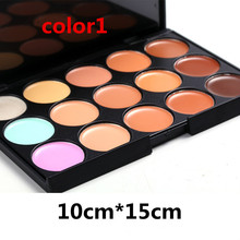 colors Professional Concealer Palette 15 Color Concealer Facial Face Cream Care Camouflage Makeup base Palettes Cosmetic body(China (Mainland))