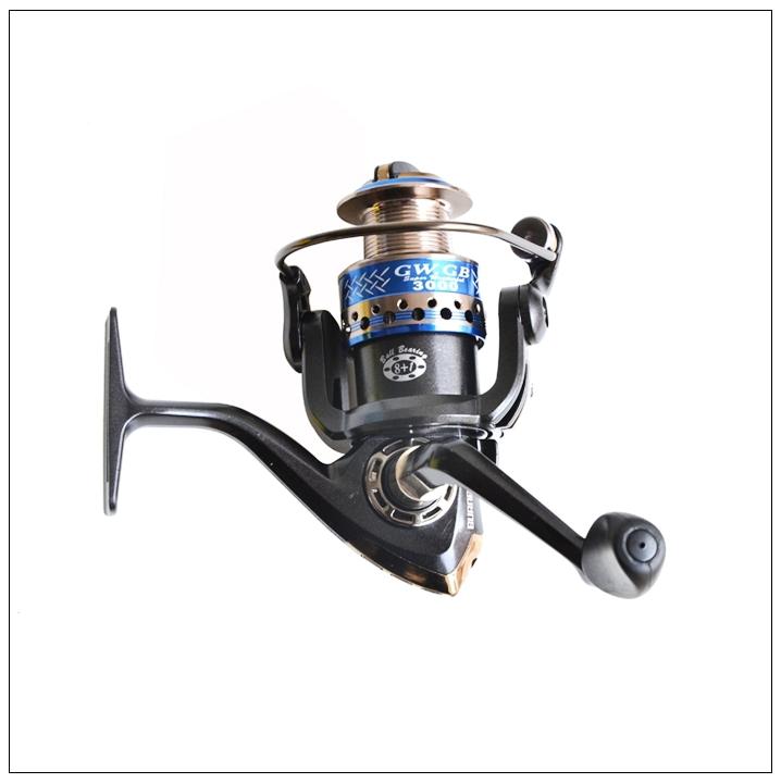 GW GB1000-5000 Fishing Reels Metal Head Spinning Reel 8+1BB<br><br>Aliexpress