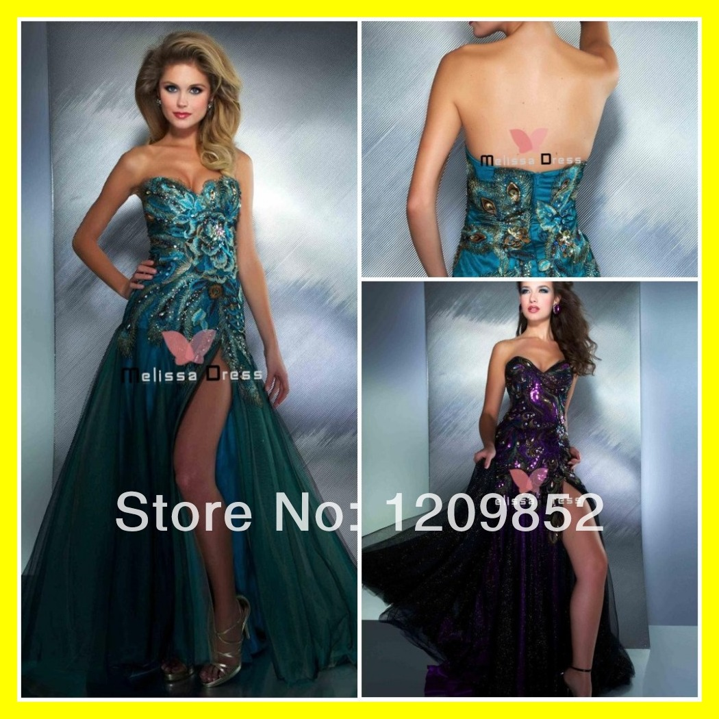 Cheap Print Prom Dresses