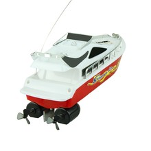 Best seller Free Shipping New Fashion Powerful Plastic Remote Control Boats Speed Electric Toys Model Ship Sailing Mar15(China (Mainland))