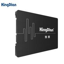 KingDian 2.5 Pulgadas SATA III 3 6 GB/S SATA II SSD 2 60 GB 64 GB 120 GB 128 GB de Disco Unidad de Estado Sólido SSD Computer Components