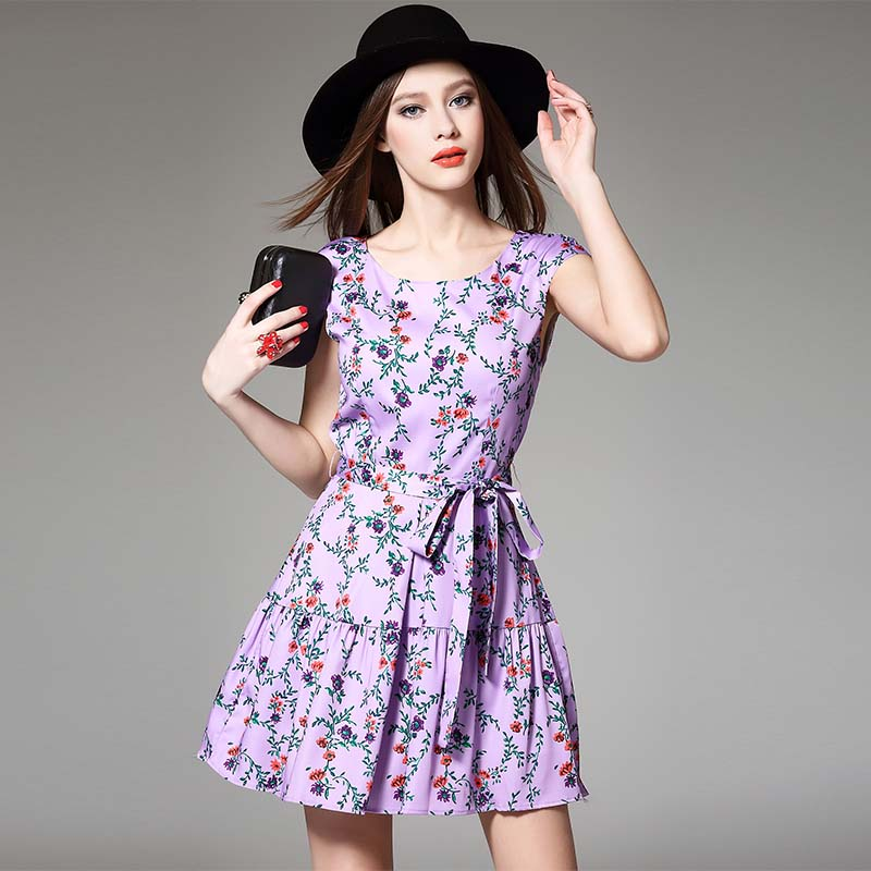 Women Summer Dress 2016 New High Quality Elegant Patchwork Bow Ruffles Short Sleeve Party dress Fashion Lady City Girl Vestidos(China (Mainland))