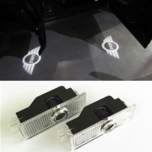 2pcs Mini Cooper R36 R56 R57 COOL LED logo door light ghost shadow laser projetor light(China (Mainland))