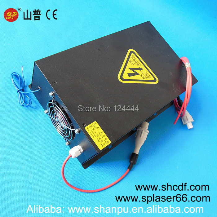 100W universal laser power supply laser cutting head laser spare parts for SP/EFR and Yongli Co2 laser tube 100W(China (Mainland))