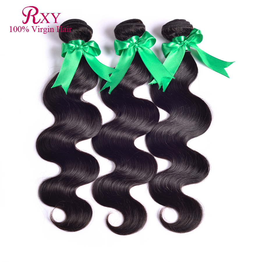 7A Unprocessed Virgin Brazilian Hair Weave Bundles 8-30'' Body Wave Cheap 100% Human Extension - Xuchang RXY Industrial & Trade CO.,ltd store