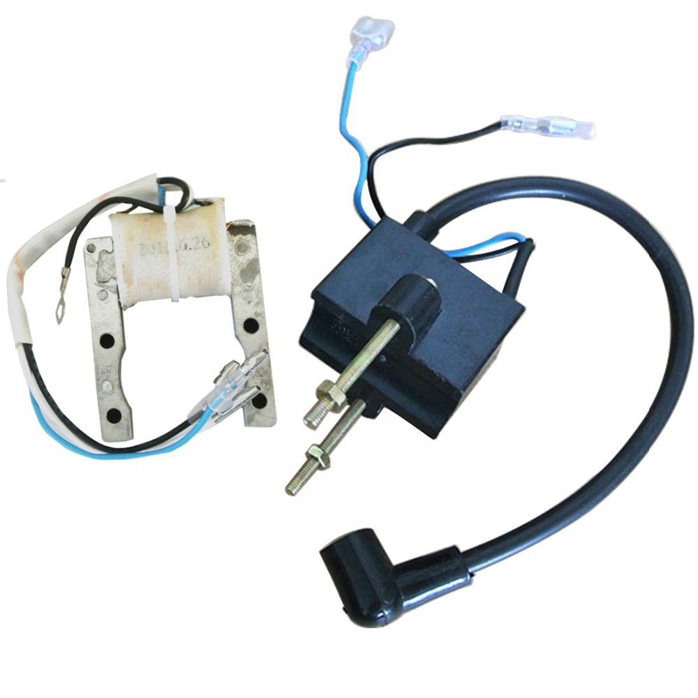 Ignition Coil CDI & Magneto Stator Kit Fit For 49cc to 80cc Motorized Bicycle(China (Mainland))