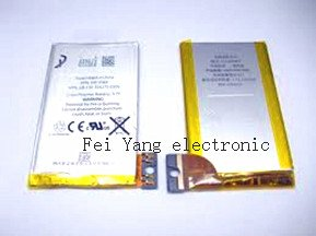 Mobile phone Battery for iPhone 3gs Free Shipping by dhl ems(China (Mainland))