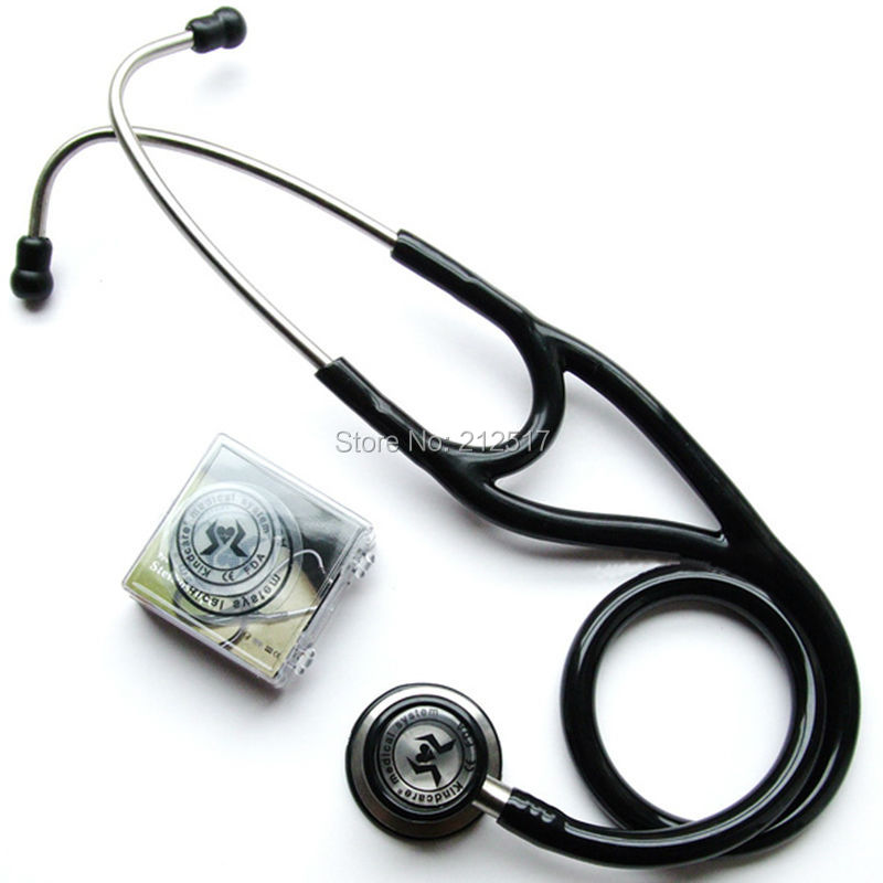 Prolonged use KT119 Stainless Steel Both side flat Auscultation surface good Conduction sound comfortable Physicians Stethoscope