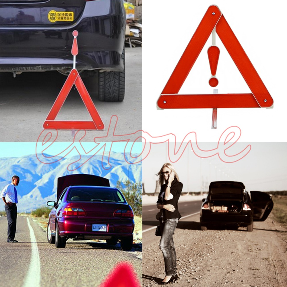 Universal Warning Board Stop Vehicle Rear Danger Reflective Safety Triangle Sign Free Shipping(China (Mainland))