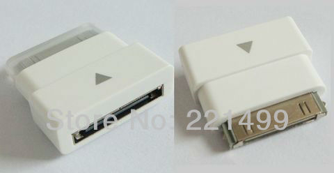 [FREE SHIPPING/EPACKET!] High Quality 30 pin Dock Connector Extension Cable Adapter for iPad/iPod/iPhone 3 3G 4 4S