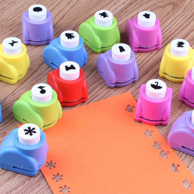 1 PC Mini Printing Paper Hand Shaper Scrapbooking Tags Cards Craft DIY Punch Cutter Tool 8 Styles(China (Mainland))