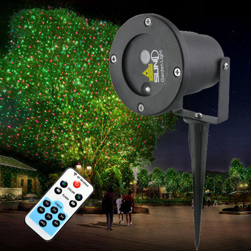 Remote Controller GR Led Laser Project Outdoor Holiday Waterproof Projector Lights Garden Home XmasTree Lighting<br><br>Aliexpress