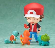 Pokemon Ash Ketchum Zenigame Charmander Bulbasaur 425# Red Anime10CM model action figures pvc rinquedo Gift for kids