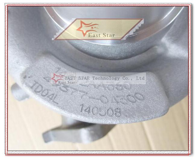 TD04 49377-04300 49377-04100 14412-AA151 14412-AA360 Turbocharger Turbo For Subaru Forester Impreza WRX-NB 98-03 58T EJ205 2.0L (1)