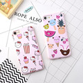 Cute Cartoon Summer Fruit Case Cover For iPhone 6 6s Plus For iPhone 7 Plus Lovely