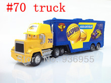 Free Shipping No. 70 truck Hauler Gasprin pixar cars 2 Toys Diecast metal Mack cars classic toys