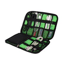 Electronic Accessories Organizers Bag For Hard Drive Organizers For Earphone Cables USB Flash Drives Travel Case Digital Bag(China (Mainland))