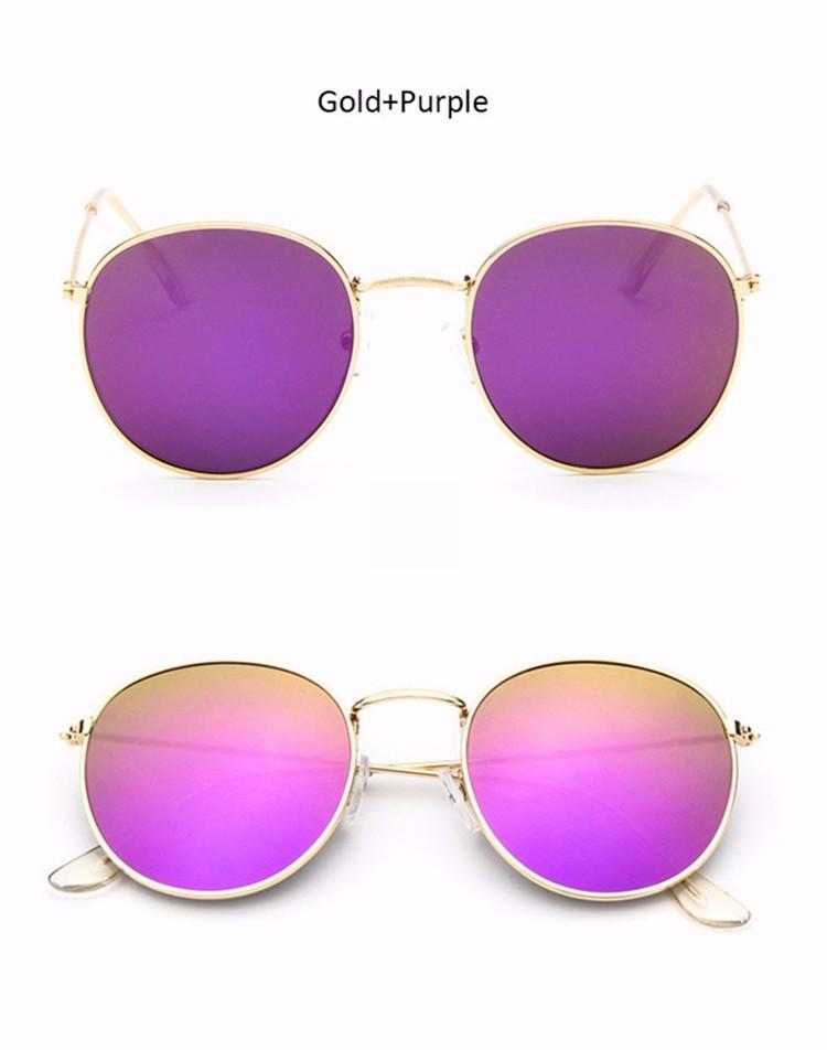 Luxury Vintage Round Sunglasses Women Brand Designer Female Sunglass Points Sun Glasses For Women Lady Sunglass Mirror 2017 Rays (10)