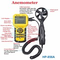 Digital Wind Speed Air Volume Meter HoldPeak HP 856A Anemometer USB Handheld with Data Logger Temperature