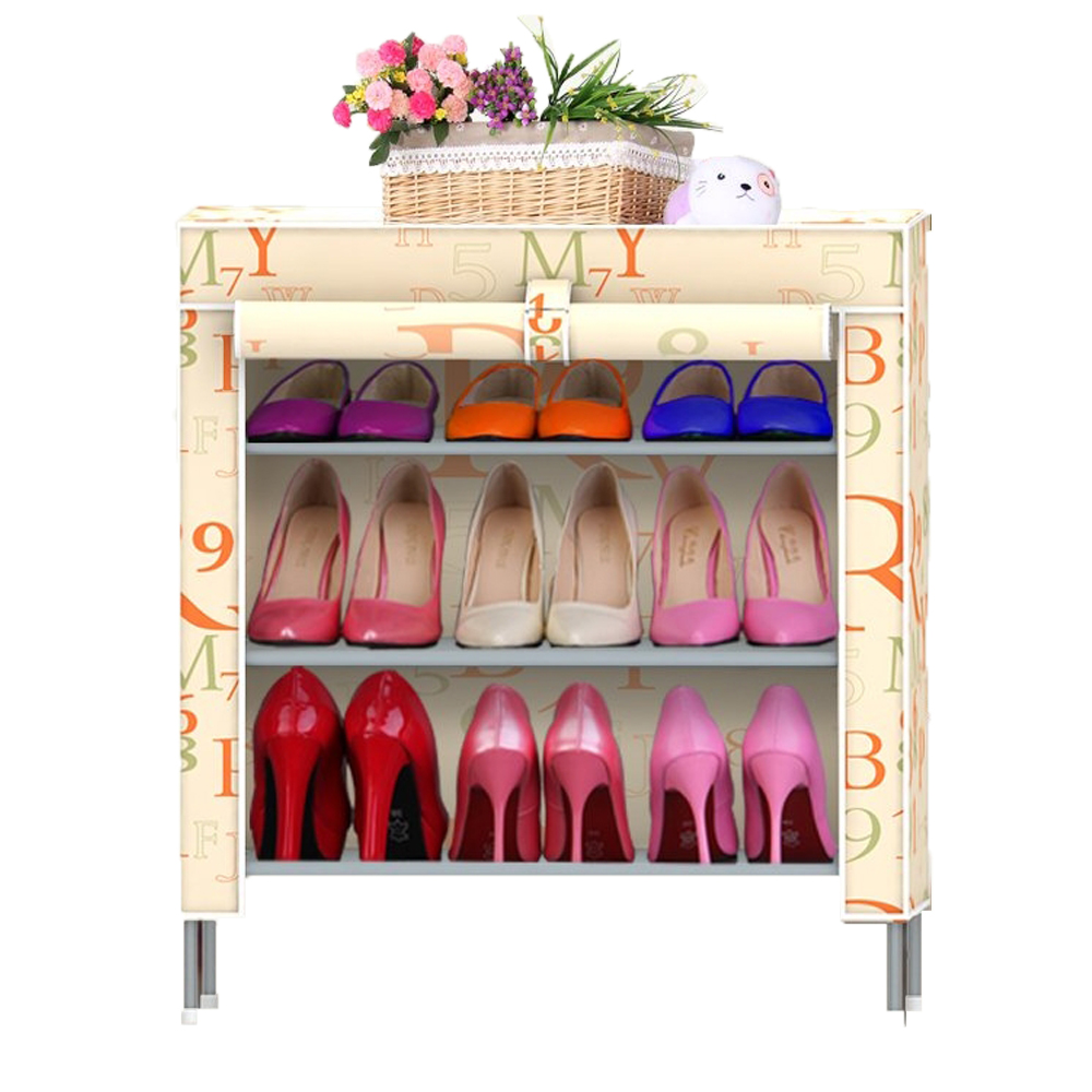 Shoe cabinet hign quality shoe storage Shoe racks shelf for shoes Non-woven fabrics furniture mueble zapatero<br><br>Aliexpress