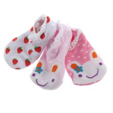 SCYL Cute random baby socks Cotton Blends Infant Toddler unisex Cartoon Pattern socking anti-slip Ankle Socks