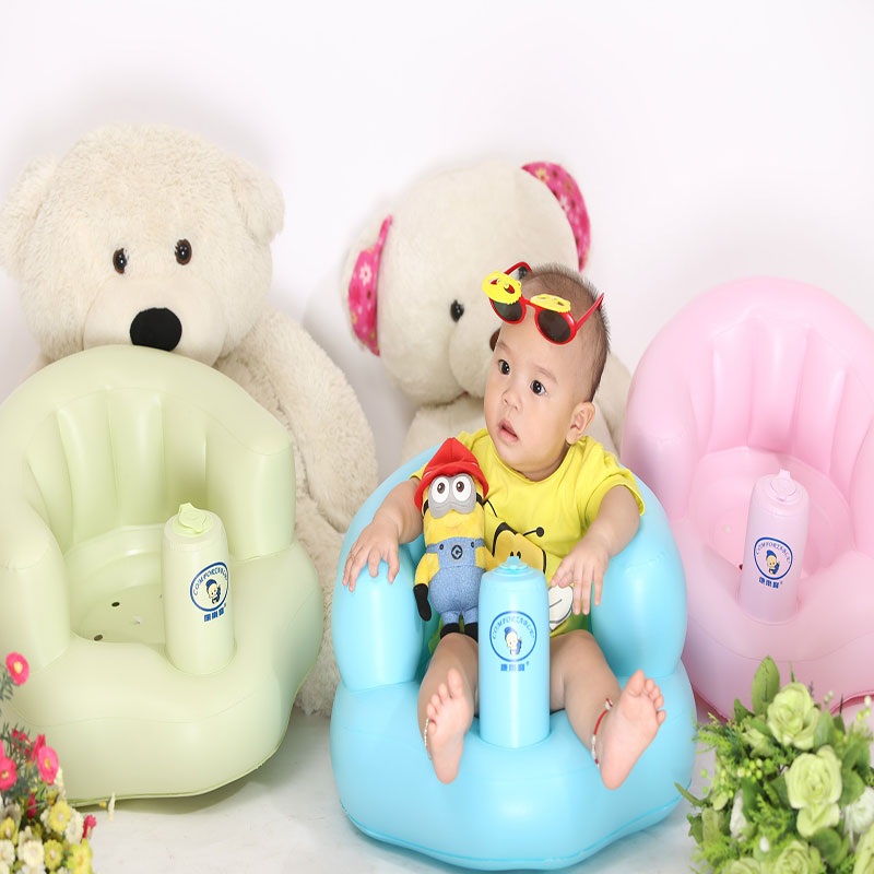 Child Sofa Chair Seat Inflatable Baby Kid Children Bathroom Stools Small Portable Baby Chair(China (Mainland))