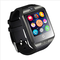 NFC Bluetooth Smart Watch Q18 With Camera facebook Sync SMS MP3 Smartwatch Support Sim TF For