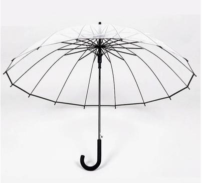 Прозрачный Зонтик Японии Небольшой и Чистый и Свежий Длинный Зонтик Автоматический Звезды Творческая Личность мужская и женская Зонтик