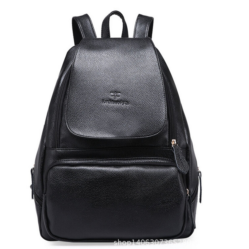 hot sale spilt leather backpacks for women high quality school backpack casual female leather backpack women bag(China (Mainland))