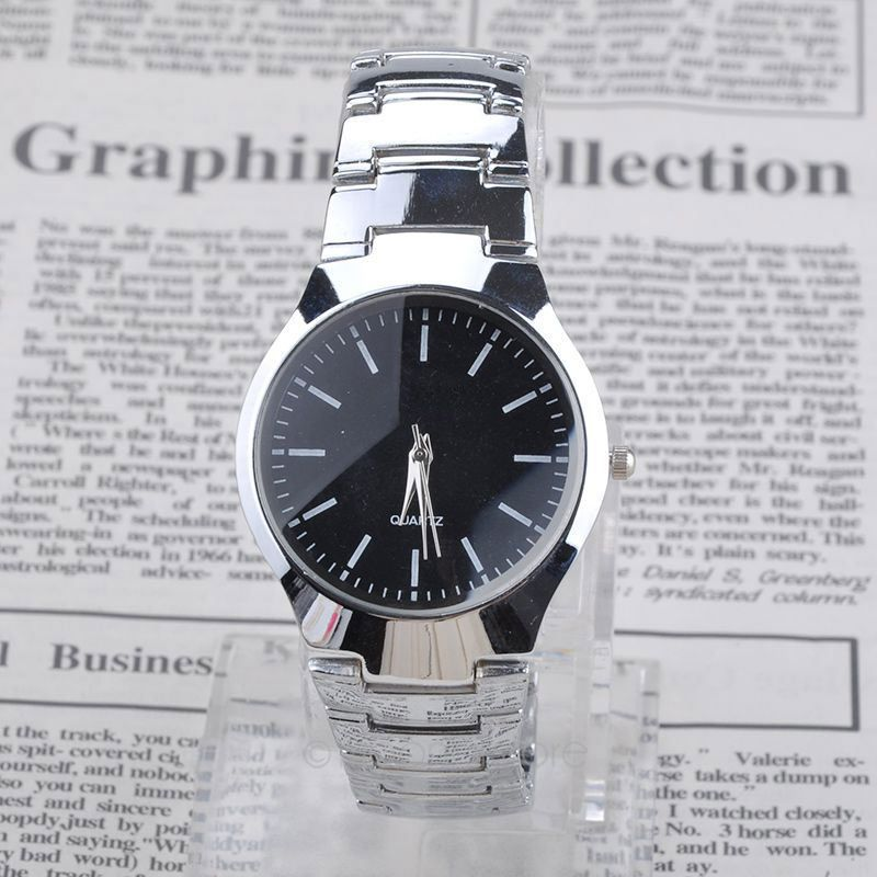 Fashion Men Famous Brand Full Stainless Steel Watch Sports Watches Casual Quartz Wristwatch Relogio Masculino - Big Four store